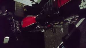 鍵を紛失してしまったバイク